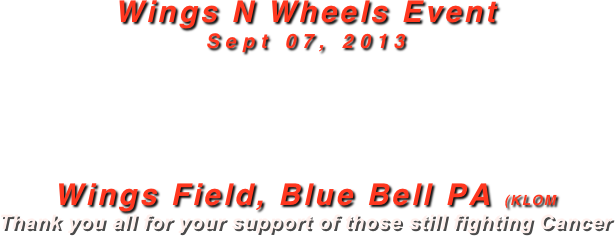 Wings N Wheels Event